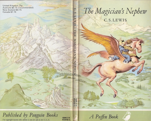 magicians nephew book report In the magician's nephew, queen jadis's selfish nature is first seen upon meeting and speaking with digory and polly in chapter 4, digory and polly while the magician's nephew is the sixth book published as part of the narnia chronicles by c s lewis, it is actually the first in chronology for the.